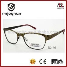 latest branded lady metal optical spectacles wholesale China