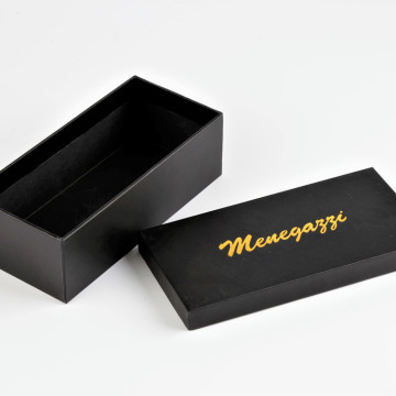 Black Custom Logo Karton Paper Glasses Packaging Boxes