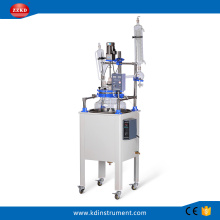 Big Chemical Lab Single Layer Glass Reactor
