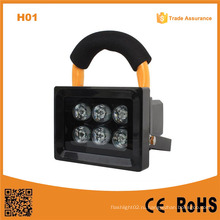H01 10W 6LED светодиодный свет потока на открытом воздухе перезаряжаемый прожектор Caving светодиодный кемпинг освещения