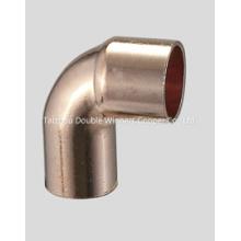 Short Street Radiu 90degree Elbow Copper Fitting for Refrigeration