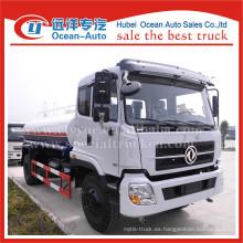 Dongfeng mano izquierda 10ton camión cisterna de transporte de agua para la venta