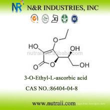 Proveedor fiable 3-O-Etil ácido ascórbico / ácido etil-ascórbico