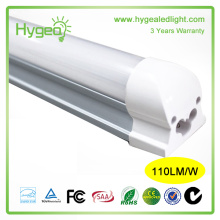 Prix ​​promotionnel! 2800-3500K blanc chaud 4ft 120cm 22W lampe à tube LED avec SMD2835 LED Chips