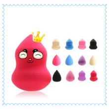 Produtos de beleza cosméticos lavável látex gratuito Blender Sponge