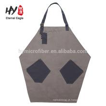 Com bolsos conveniente avental de cozinha bonita para cozinhar