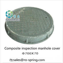 Couvercle d'égout en composite en fibre de verre FRP GRP