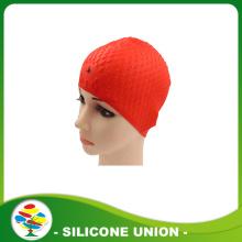 2016 new personalised design silicone swimming caps