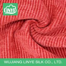 Haut poids 100% polyester maison meuble textile velours côtelé