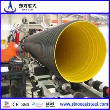 200mm ~ 800mm HDPE Tubos ondulados de parede dupla para drenagem