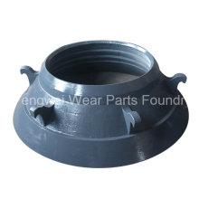 Запасные части конусной дробилки Mn18cr2 Чаша Liner Mcc54