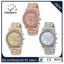 Hotsale Новый Женева мода Спорт старинные женские часы женщин (ДК-313)