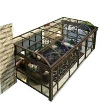 Polycarbonate Sunroom Roof Glass Garden Aluminum Sun Room