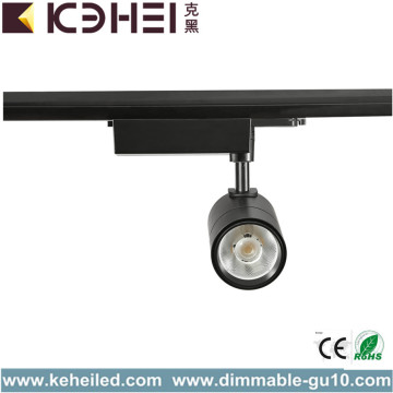 Zwarte LED Track Lights 30 Watt zuiver wit