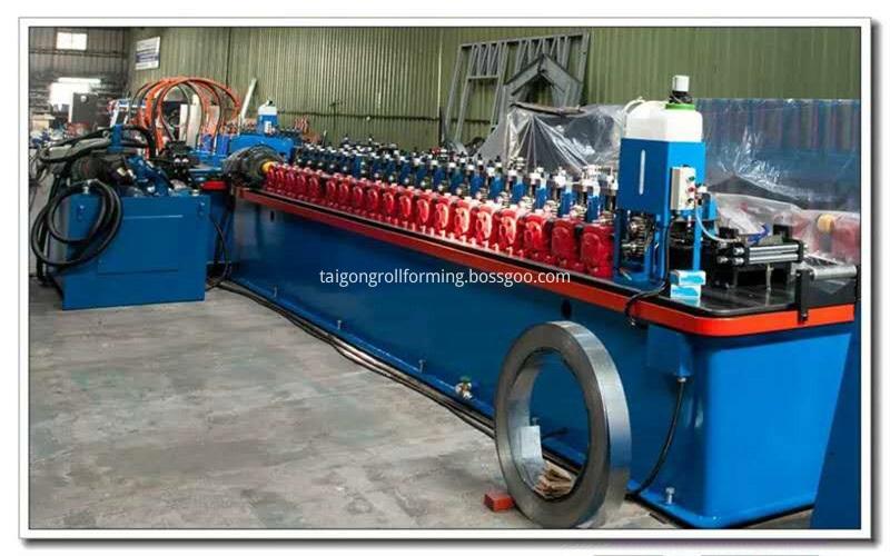 Light Gauge Steel Frame Forming Machine