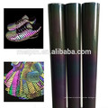 Shoes material reflective rainbow Mesh Fabric
