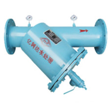 Pn16 Manual Drive Brush Filtro de agua para la torre de refrigeración Filtrado
