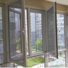 Malha de arame de aço inoxidável revestida do PVC de 201 materiais