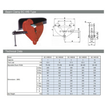 Collier de serrage robuste 10 tonnes