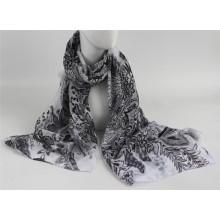 Echarpe imprimé imprimé en écharpe femme / femme