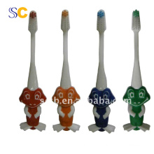 Vente chaude brosse à dents pour enfants, brosse à dents à poils doux