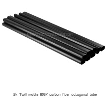 19x17x500mm réel 3K sergé prix d'usine Matte carbone Fiber Booms ou Pipes pour Multicopters