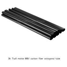 19x17x500mm Real 3 K Twill Matte Preço de Fábrica De Fibra De Carbono Booms ou Tubos para Multicopters