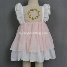 Wholesale rose WDW remake filles robes de bébé