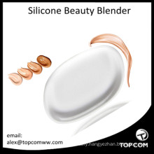 Beauty Sponge Blender Silicone Clear Gel Makeup Puff for Refined Cream