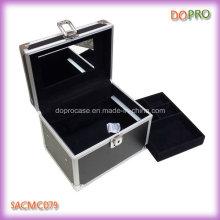 Дешевые Оптовая Коробка небольшой макияж Организатор с зеркалом (SACMC079)