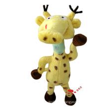 Gelb Plüsch Cartoon Giraffe Spielzeug