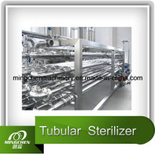 Fruit Green Tea Tubular Sterilizer CE