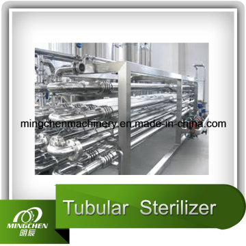 Esterilizador de tubo de suco automático completo