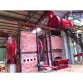 Newest unique design coconut charcoal carbonization facility price