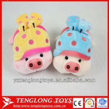 2013 fashion cute innovative pig plush phone holder