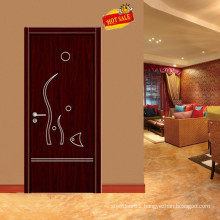 wooden fashion type hotel room door design