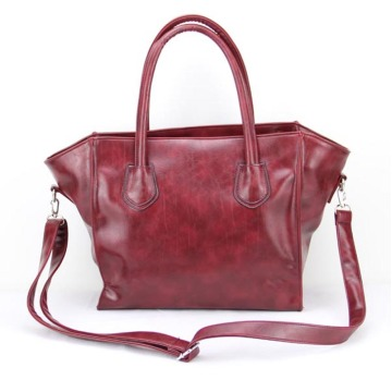 Mewah Reka Bentuk Profesional Lady Leather Totes Handbags