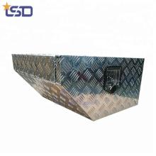 Caja de herramientas del totalizador de aluminio