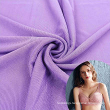 light jersey knit spandex stretchy knitted mesh nylon fabric for underwear