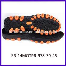 hard sole men shoes tpr shoes sole casual tpr sole