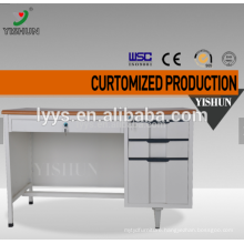 Customized cheap top wooden office computer table design