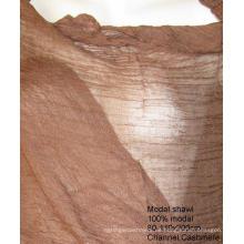 Kaschmir Modal Blend Gewebter Schal