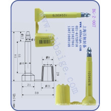 sello de seguridad de carga BG-Z-007, sello de contenedor