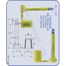 selo de segurança de carga BG-Z-007, selo de contêiner