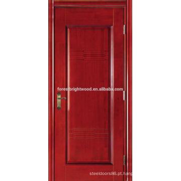 Cereja folheada pintado Hotel portas esculpidas portas interiores MDF
