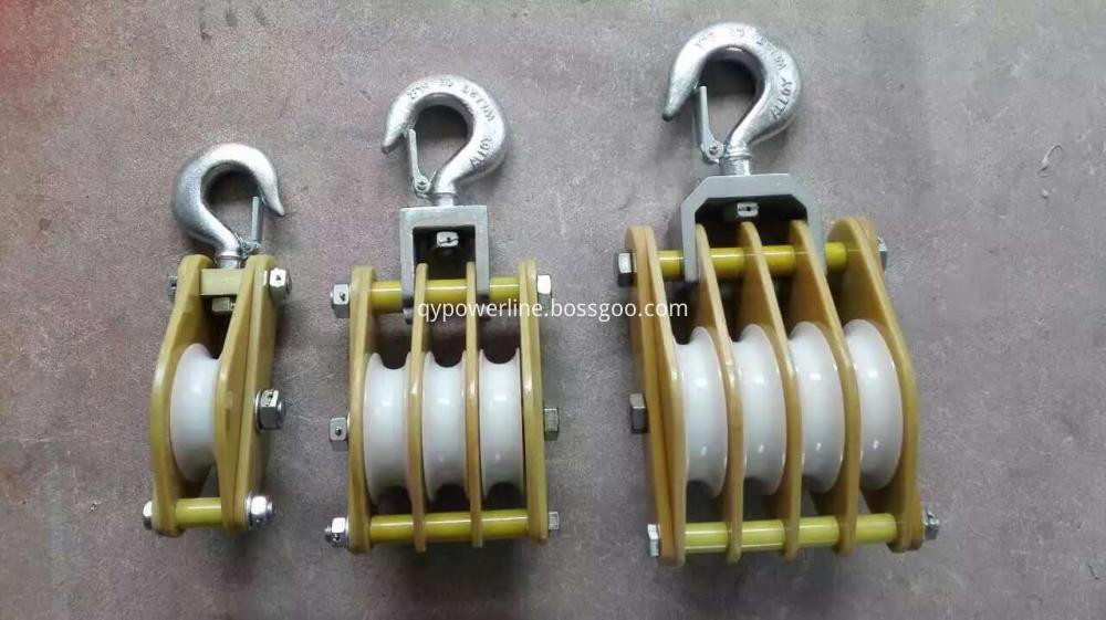 block and tackle hoist