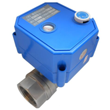 stainless mini electric ball valve