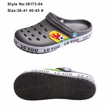 EVA Holey Kids Garden Clogs Paste Side Binding EVA Clogs Shoes