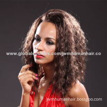 Vogue human hair full lace wig for sale