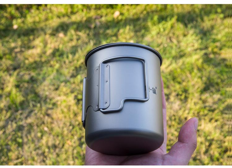 Portable Titanium Cup